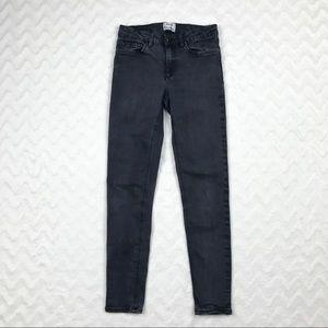 """Acne Studios Skin 5 Skinny Jeans """"Used Black"""" 27"""